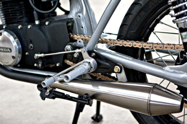 Honda CB350 đời 1971 độ Cafe Racer