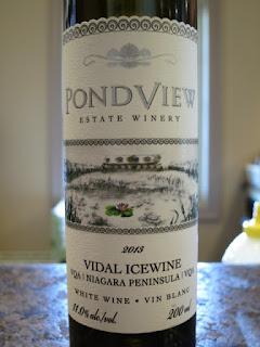 PondView Vidal Icewine 2013 - VQA Niagara Peninsula, Ontario, Canada (90 pts)