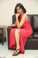 Sakshi Kakkar in Red Legsplit Sleeveless Gown at Dare movie Press meet ~  Exclusive 027.JPG