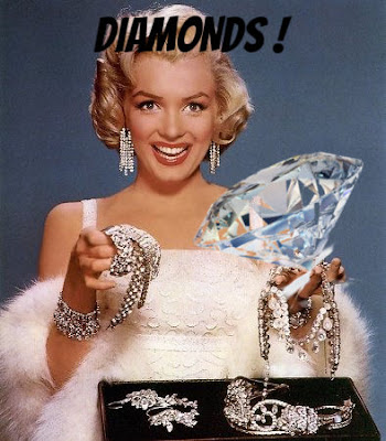 Marilyn Monroe and Diamonds
