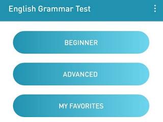 Tingkatan pengujian Grammar