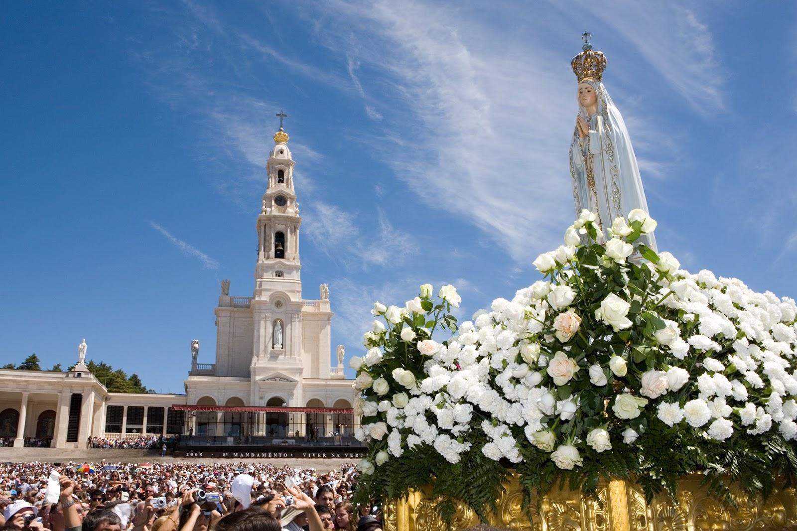 Nossa Senhora De Fatima Novena Imagens Oracao Fotos Pinturas