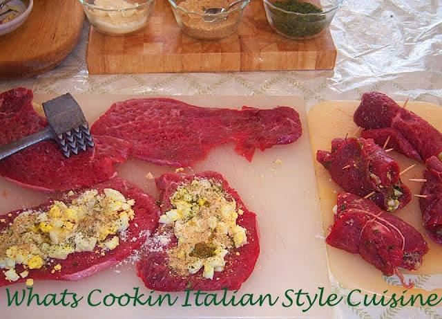 Braciole Italian Stuffed Meat Rolls and Video