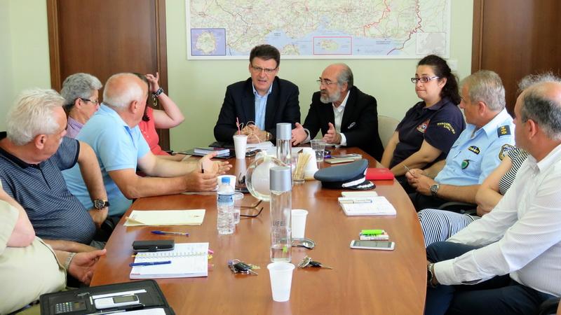 Σύσκεψη στην Αλεξανδρούπολη για την ευλογιά των αιγοπροβάτων