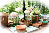 Summer dining alfresco