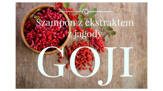 DERMAPLUS Szampon do włosów z ekstraktem z jagody Goji.