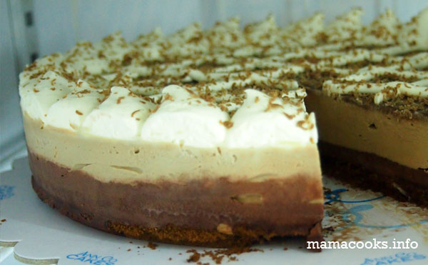 Ann Co Cakes - Bacolod cafe - Toblerone cheesecake