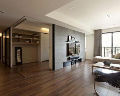 Đảm bảo quy tắc kết hợp giữa sàn gỗ tự nhiên chiu liu và nội thất