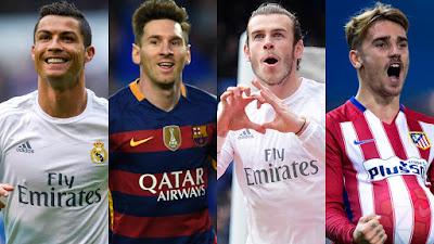 Daftar 11 Pemain Terbaik Dunia Tahun 2016