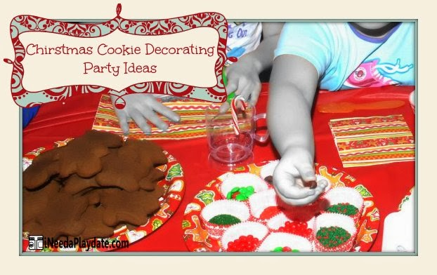 Christmas Cookie Decorating Party Ideas via @MryJhnsn