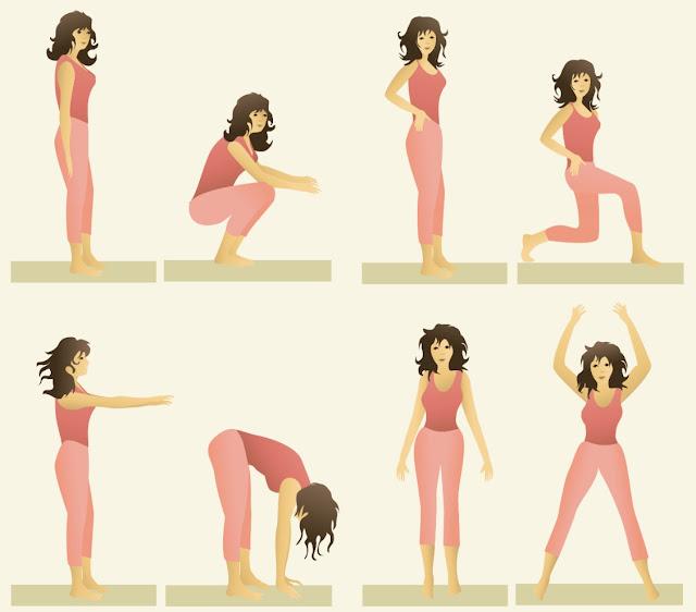 Exercício de 2 minutos que pode ser tão benéfico quanto uma aula de spin