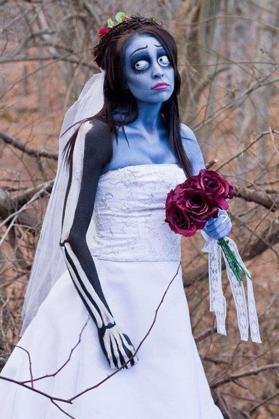 Vestiti Da Sposa Halloween.New Donna Blog Costumi Di Halloween Fai Da Te Per Ragazze