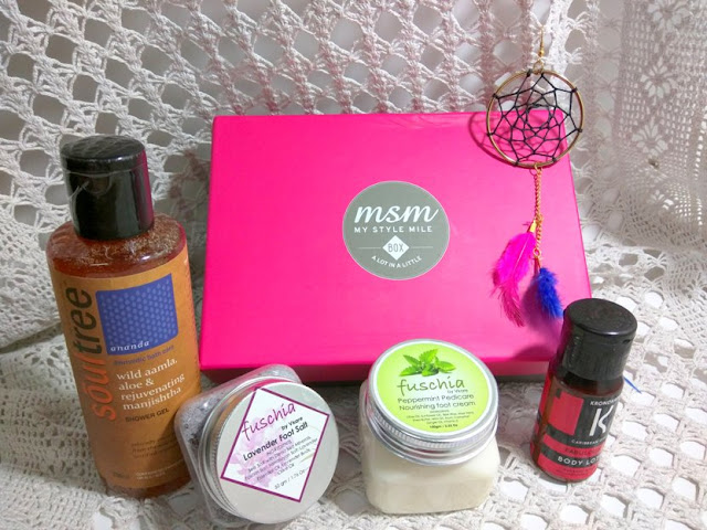 My September MSM box
