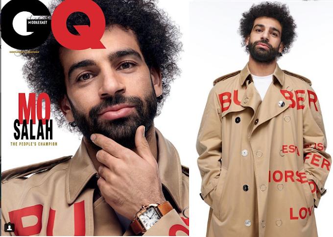 Potos: African best footballer Mohamed Salah covers GQ Magazine