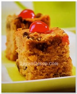 Resep Roti Cake Kurma Kacang Mede