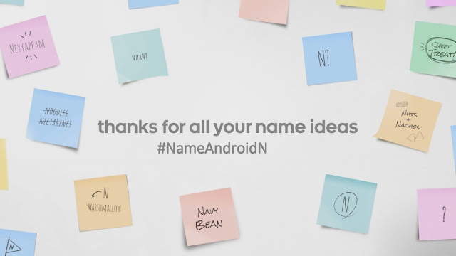 Google Confirmed, Android N Official Name Will be Out in Few Weeks