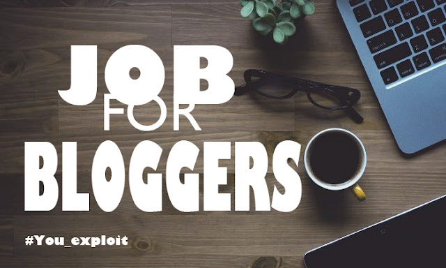 Experienced blogger wanted!