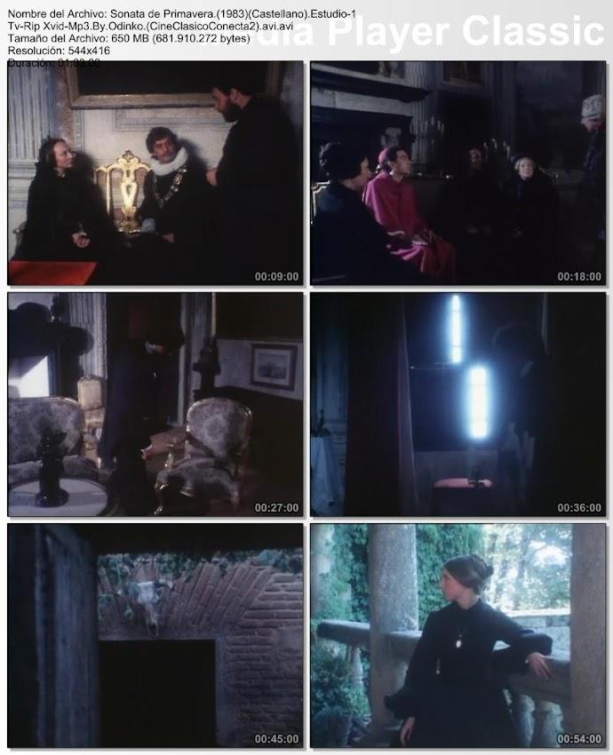 Sonata de Primavera 1983 | Gran teatro Estudio 1