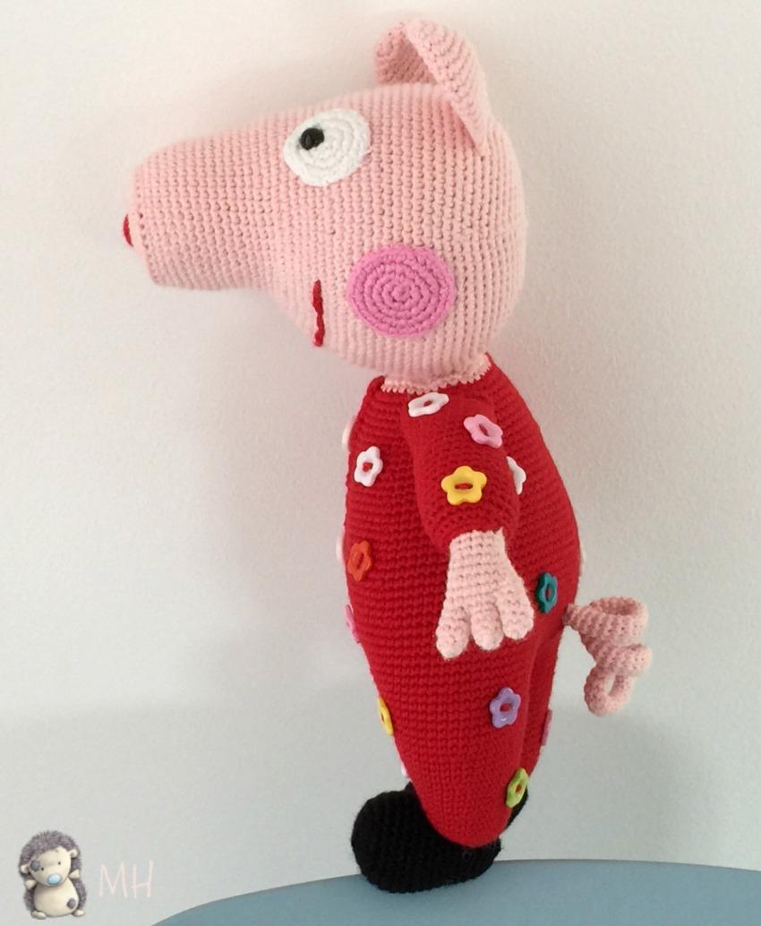 Patron Amigurumi Peppa Pig Grande : MADRES HIPERACTIVAS: manualidades y DIY con y para ninos ...