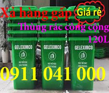 Thùng rác nhựa, thùng rác công cộng siêu rẻ