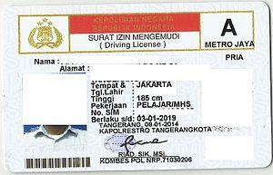 adalah bukti registrasi dan identifikasi yang diberikan oleh Polri kepada seseorang yang  3 Fungsi Lain SIM (Surat Izin Mengemudi)