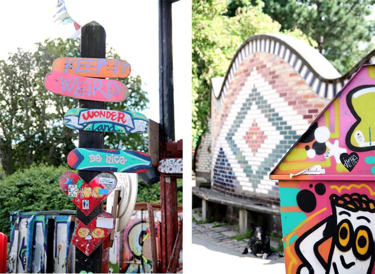 Graffiti Christiania Copenaghen