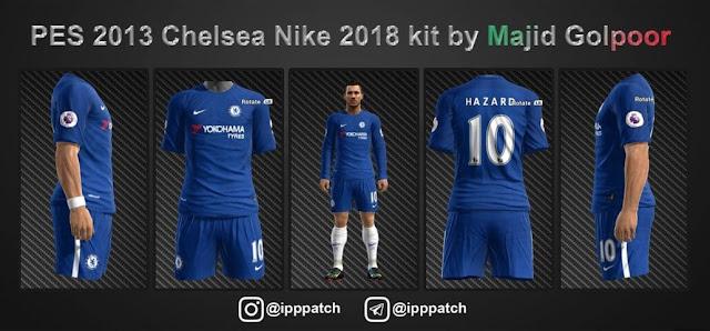 Chelsea 2018 Kit PES 2013