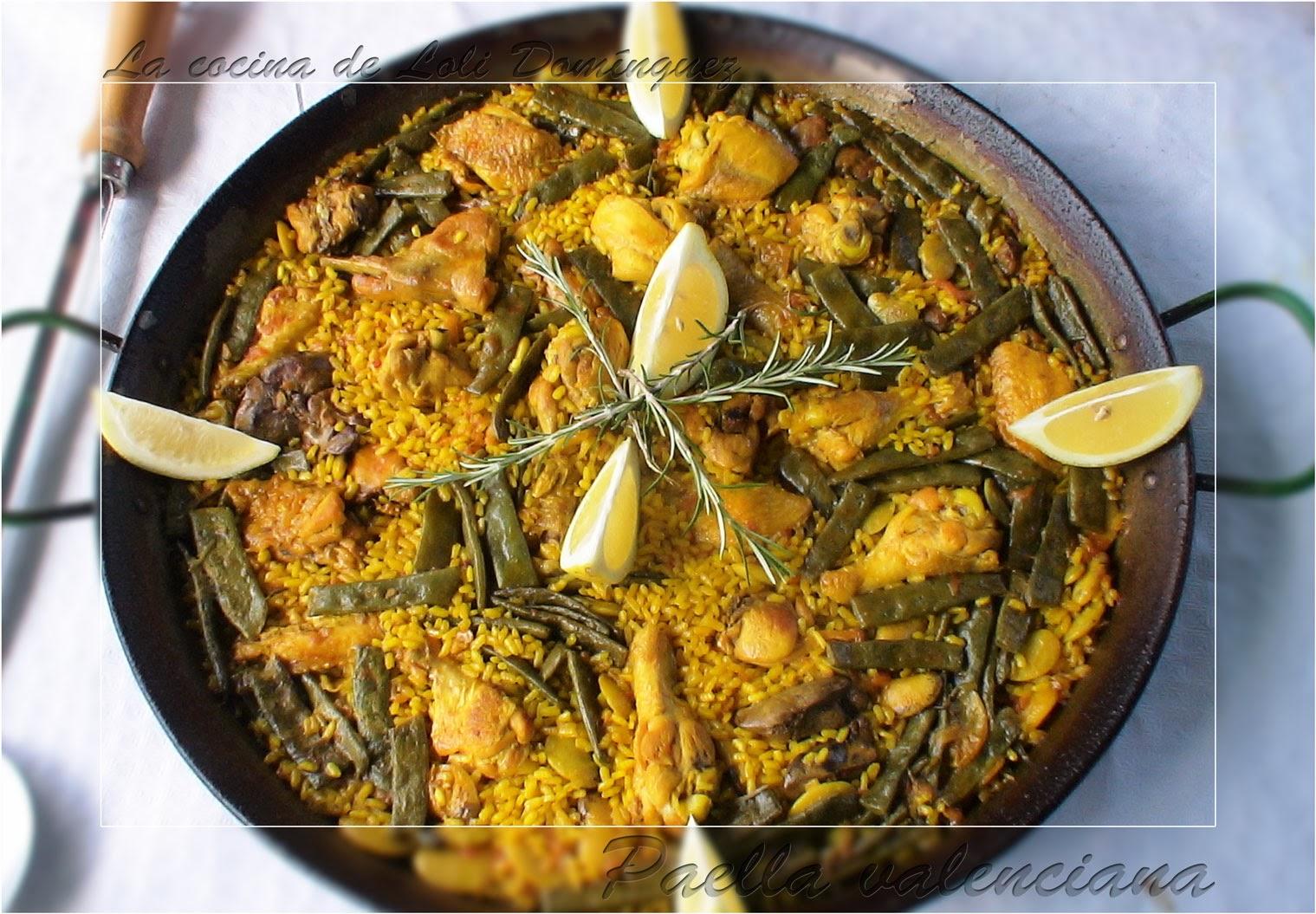 La cocina de loli dom nguez paella valenciana for Cocina valenciana