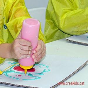 CreaKids: receta pintura con relieve