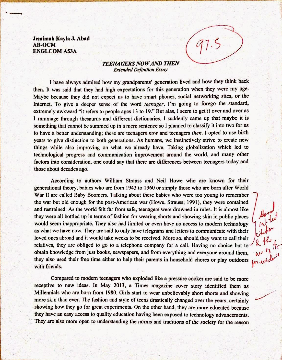 Teenage Curfew Essays Define Essay Success Definition Essay Essay