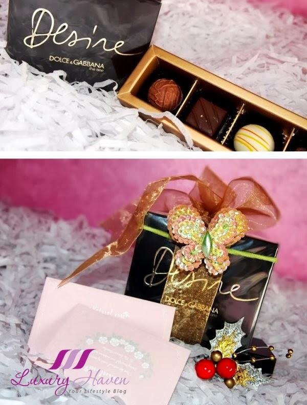 dolce gabbana one desire perfume, xmas wrapping tips