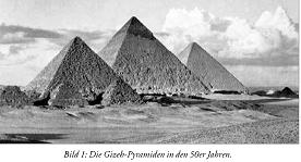 Pyramiden Gegossen