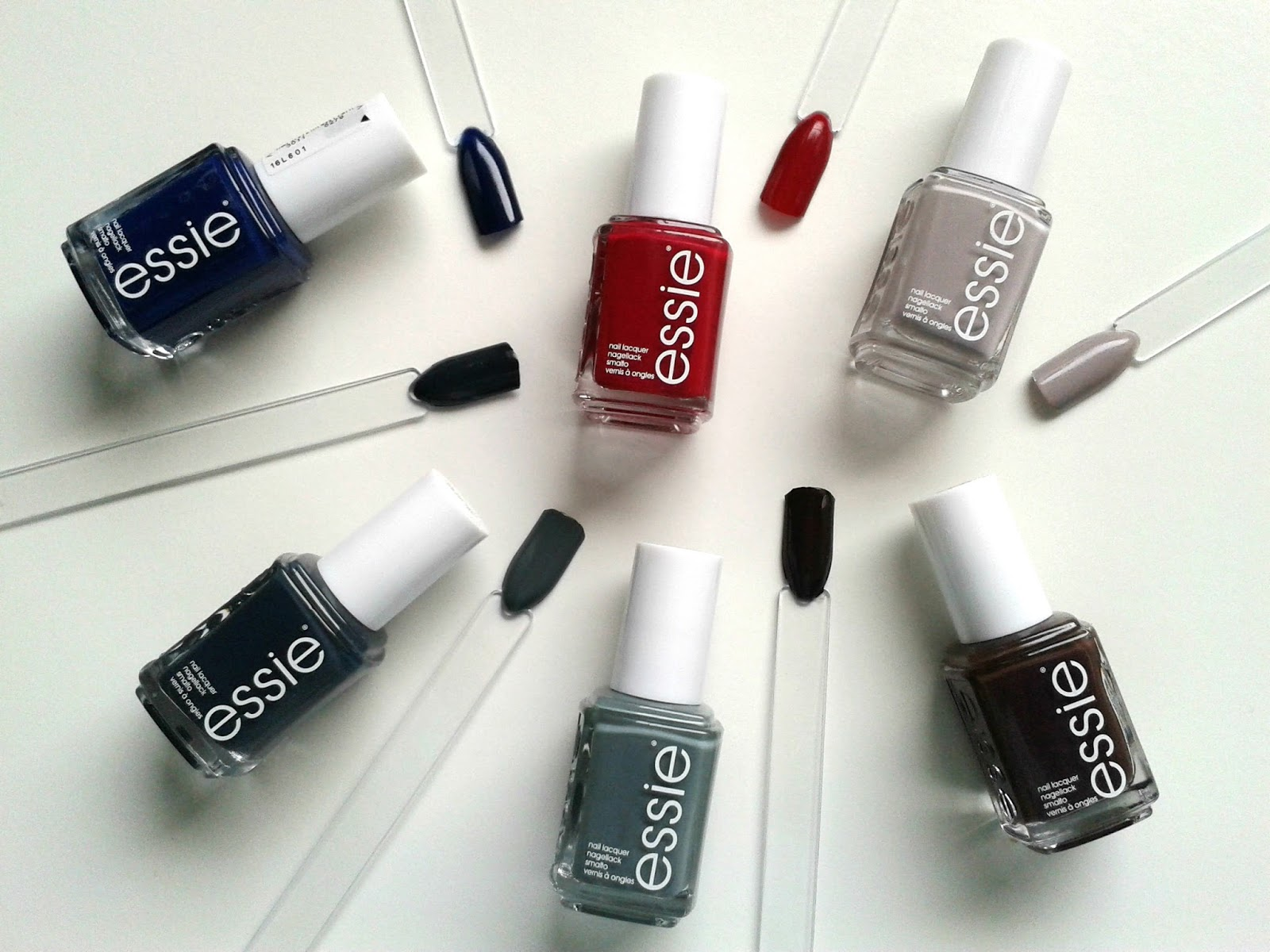 Essie Fall 2014 Collection Review Swatches