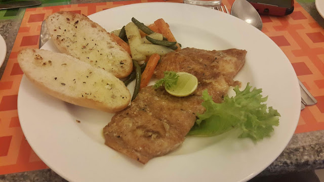 Grilled Fish in Lemon Butter Sauce