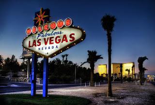 Las Vegas, semnul de la intrare în oraș - imagine de pe instagram