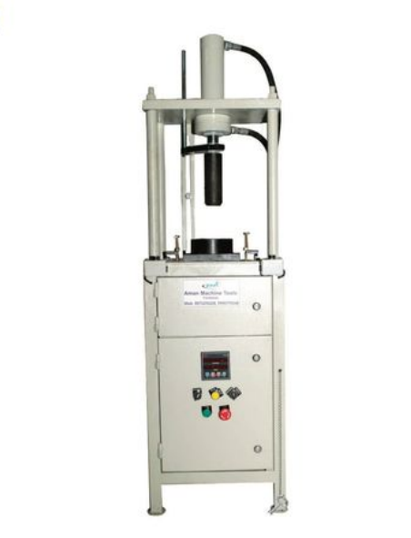 Shaft pressing machine with hydroulic image