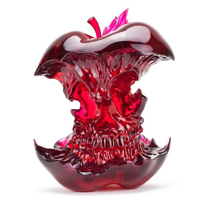 Rotten Candy Red Edition Resin Figure by Djinn & Tonic x Clutter