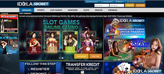 IdolaSbobet Agen Bola Bandar Sbobet Casino Online