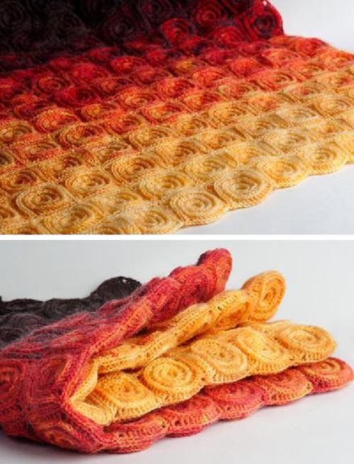 Fire Blanket - Crochet Pattern