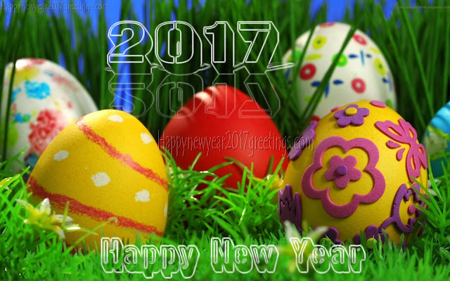 (happy} New Year 2017 3D Images Download
