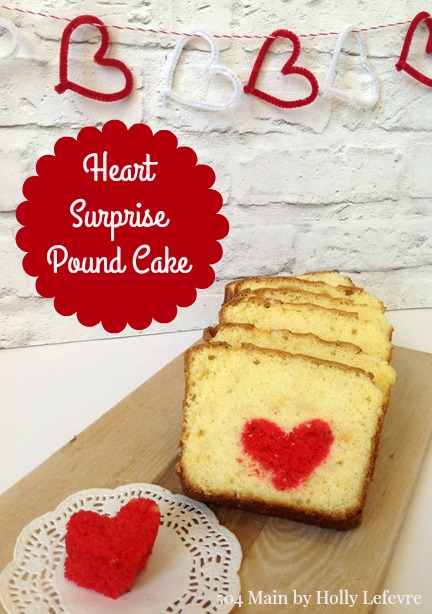 Heart Surprise Pound Cake