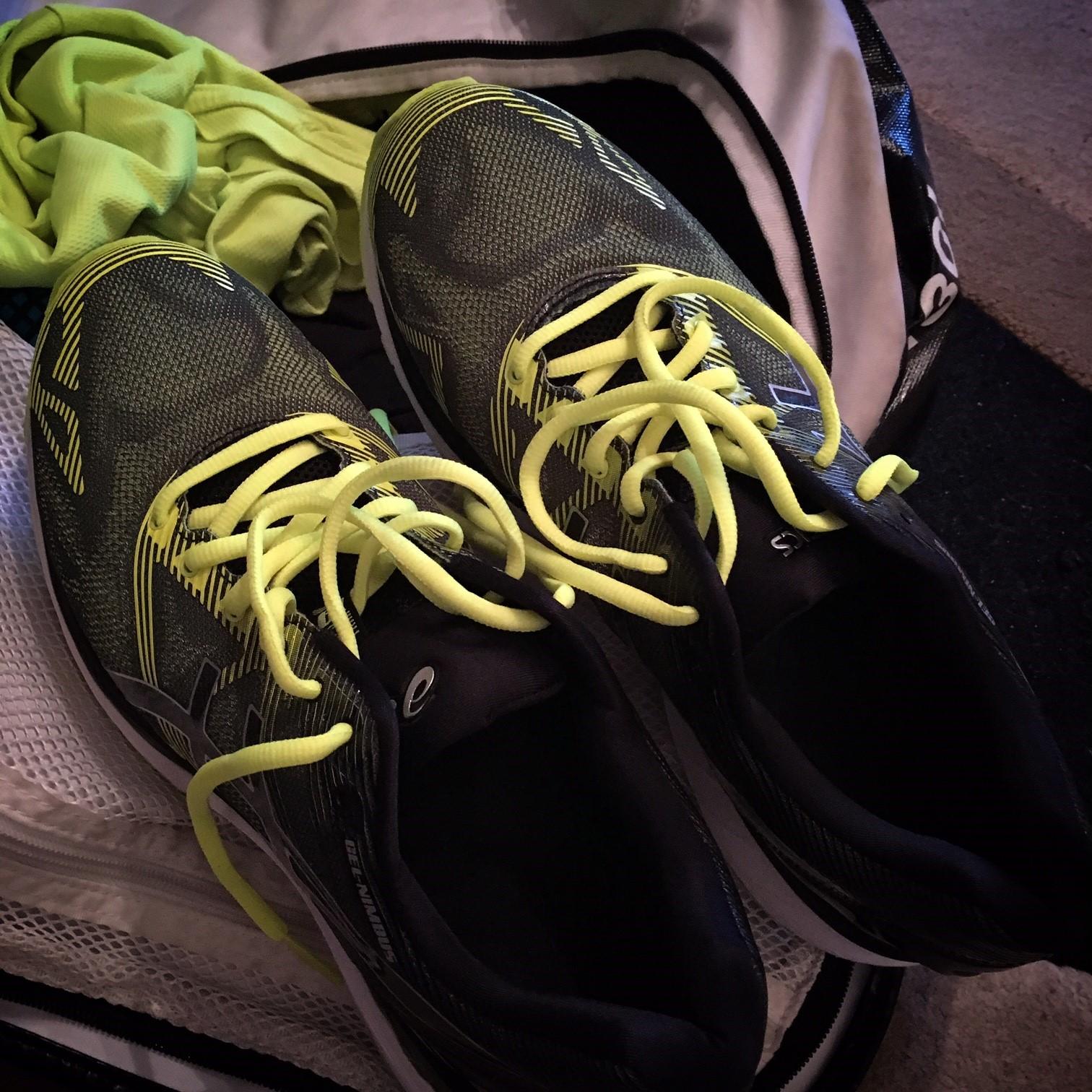New shoes this year - Asics Nimbus