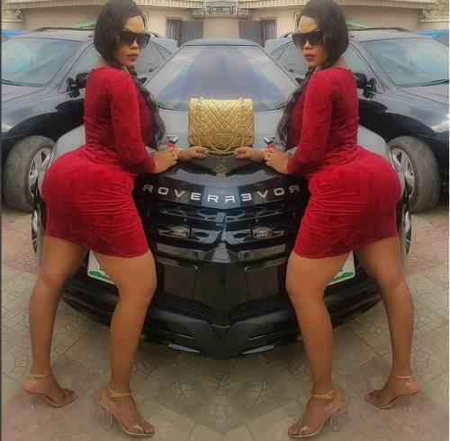 EXPOSED: How Apostle Suleiman Bought $76,000 Mercedes Car For Secret Nollywood Lover, Daniella Okeke; Lagos Vehicle License Data Proves