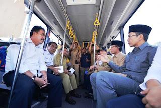 (BRT) BUS RAPID TRANSIT BEROPERASI DI MATARAM, NTB