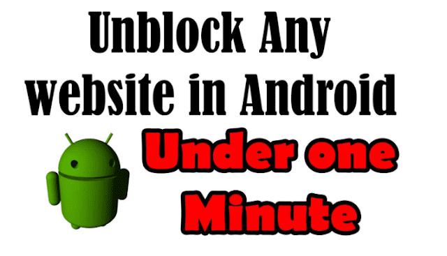 Cara Membuka Situs Yang Diblokir Android Dengan Mudah