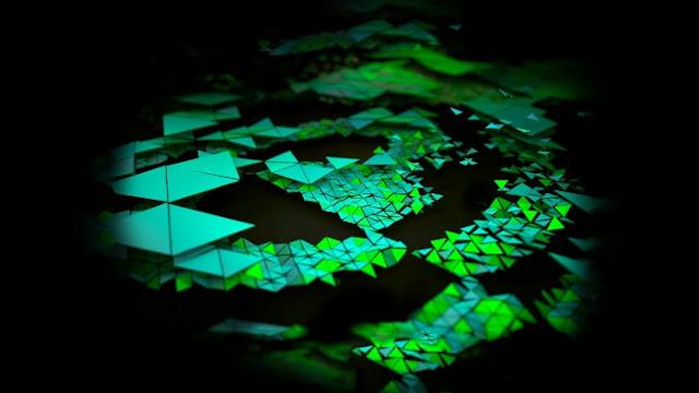 Triangles Nvidia Shield Tablet Stock - Fond d'Écran en HD