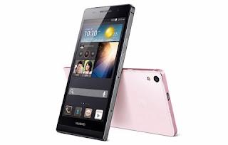 Huawei Ascend P6 slim design