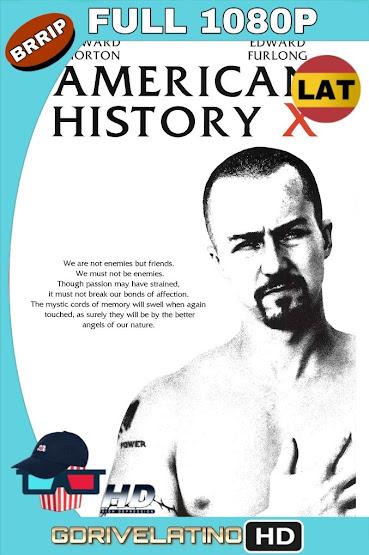 American History X (1998) BRRip 1080p Latino-Ingles MKV