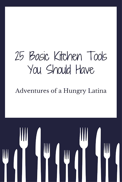 Tip Tuesday: 25 Basic Kitchen Tools You Should Have