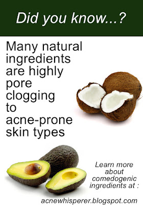 Most vegetable oils are extremely pore clogging and can aggravate Adult Acne!